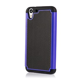 Dual Layer Shockproof Case For Htc Desire 626 - Deep Blue Mobile phones