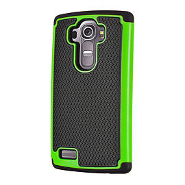 Dual Layer Shockproof Case For Oneplus Two - Green Mobile phones