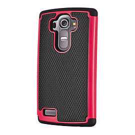 Dual Layer Shockproof Case For Oneplus Two - Hot Pink Mobile phones