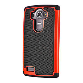 Dual Layer Shockproof Case For Oneplus Two - Red Mobile phones
