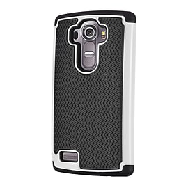 Dual Layer Shockproof Case For Oneplus Two - White Mobile phones