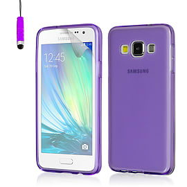 Crystal Case For Samsung Galaxy Core Prime - Purple Mobile phones