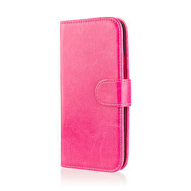 Book Pu Leather Wallet Case For Microsoft Lumia 950 - Hot Pink Mobile phones