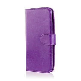 Book Pu Leather Wallet Case For Microsoft Lumia 950 - Purple Mobile phones