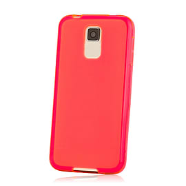 Crystal Case For Zte Blade L3 - Red Mobile phones