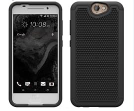 Dual Layer Shockproof Case For Htc One A9 - Black Mobile phones