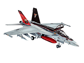 F/a-18e Super Hornet 1:144 Scale Model Kit Figurines and Sets