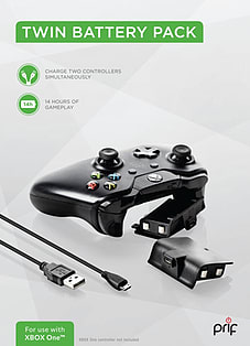 Twin battery pack and charge cable (Xbox One) Xbox One