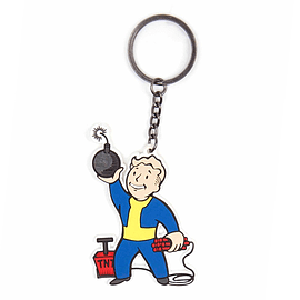 Fallout 4 Explosives Skill Keychain Clothing