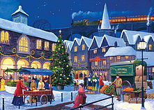 Gibsons Christmas Eve Jigsaw Puzzles (2 X 500 Pieces) screen shot 2
