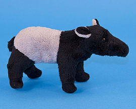 Dowman Tapir Soft Toy 16cm Soft Toys