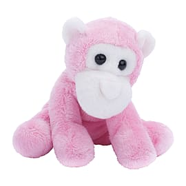 Petjes World Mini Pink Chimpanzee Soft Toy 13cm Soft Toys