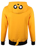 Adventure Time Jake Yellow Men's At Hoodie: Medium (mens 38 - 40) screen shot 1
