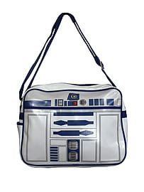 Star Wars R2-d2 Retro Bag White Messenger Bag 37x28x9.5cm Sports Camping and Hiking