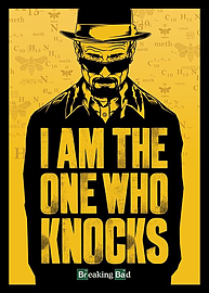 Breaking Bad I Am The One Who Knocks Giant Poster 100x140cm Posters