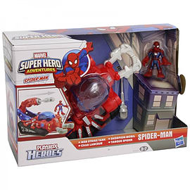 Marvel Super Heroes Spiderman Web Strike Tank Figurines and Sets