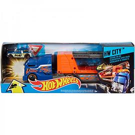 Hot Wheels: HW City Crashin Big Rig Figurines and Sets