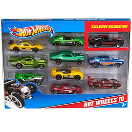 Hot Wheels 10 Pack Cars Figurines and Sets