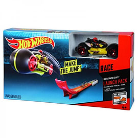 Hot Wheels: HW Race Moto Track Stars Launch Pack Figurines and Sets