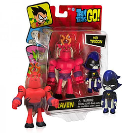 Teen Titans Go Raven With Trigon Mini Figure Figurines and Sets