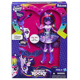 Equestria Girls That Rock Singing Twilight Sparkle Figurines and Sets