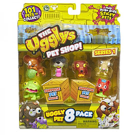 Ugglies Pet Shop 8 Pack Figurines and Sets