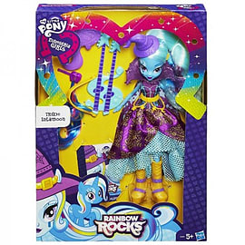 Equestria Girls Trixie Lulamoon Fashion Doll Figurines and Sets
