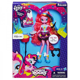 Equestria Girls That Rock Singing Pinkie Pie Figurines and Sets