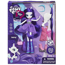 Equestria Girls Deluxe Doll - Rarity Figurines and Sets