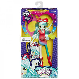 Equestria Girls Rainbow Rocks - Lyra Heartstrings Figurines and Sets