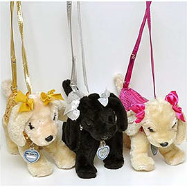 Poochie & Co Kids Handbags - Jessica Russell Light Pink Coat Figurines and Sets