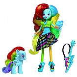 Equestria Girls Doll And Pony Set - Rainbow Dash screen shot 1