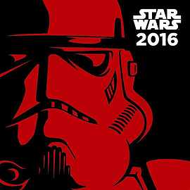 Star Wars 2016 Square Calendar 30x30cm Books