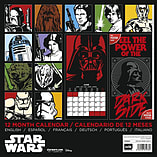 Star Wars 2016 Square Calendar 30x30cm screen shot 1