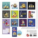 Despicable Me Minions Mania 2016 Square Calendar 30x30cm screen shot 1