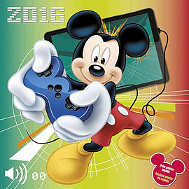 Disney Mickey Mouse 2016 Square Calendar 30x30cm Books