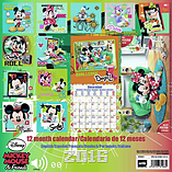 Disney Mickey Mouse 2016 Square Calendar 30x30cm screen shot 1