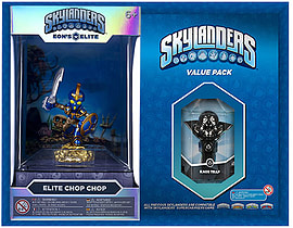Elite Chop Chop and Kaos Trap Skylanders Gift Pack Toys and Gadgets