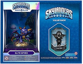 Elite Spyro and Kaos Trap Skylanders Gift Pack Toys and Gadgets