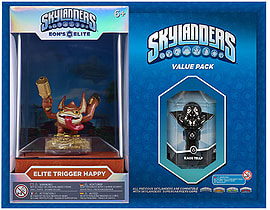 Elite Trigger Happy and Kaos Trap Skylanders Gift Pack Toys and Gadgets