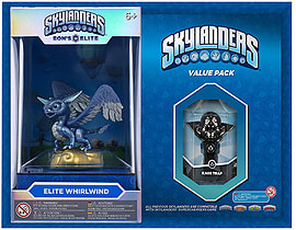 Elite Whirlwind and Kaos Trap Skylanders Gift Pack Toys and Games