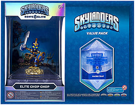 Elite Chop Chop and Brawl & Chain Trap Skylanders Gift Pack Toys and Gadgets