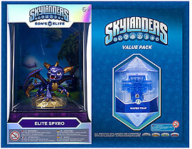 Elite Spyro and Brawl & Chain Trap Skylanders Gift Pack Toys and Gadgets
