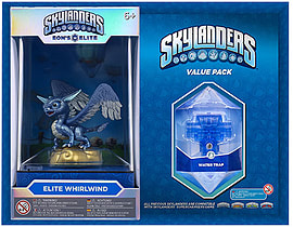 Elite Whirlwind and Water Trap Skylanders Gift Pack Toys and Gadgets