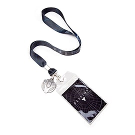 Destiny Lanyard W/ Metal Charm Clothing