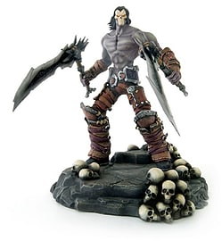 Darksiders 2 Death Pvc Statue Figurines and Sets