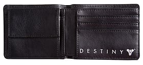 Destiny Logo Black Bi-fold Wallet screen shot 2