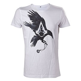 Assassins Creed Syndicate White Crow T-shirt - S Clothing