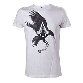 Assassins Creed Syndicate White Crow T-shirt - XL Clothing