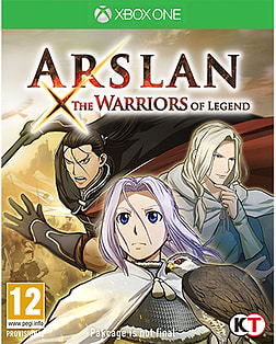 Arslan: the Warriors of Legend Xbox One Cover Art